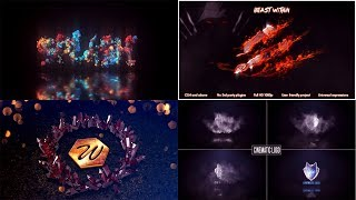 Top 16 LOGO Template After Effects 2019