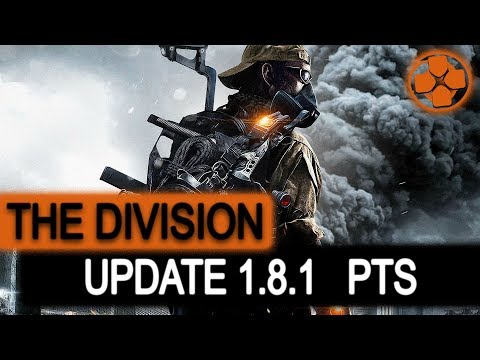 The Division 🔴 1.8.1 PTS | New Legendary Missions | New Global Event | PC Gameplay 1080p 60fps