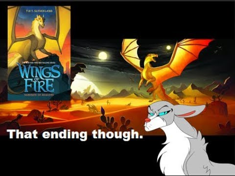 What The Fiction Wings Of Fire Darkness Of Dragons Review