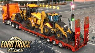 Pierwsza trasa nową ciężarówką - Euro Truck Simulator 2 | (#47)