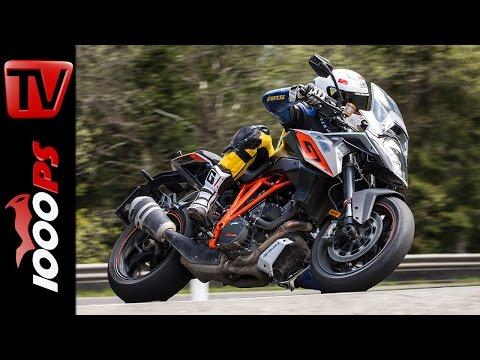KTM 1290 GT Test 2016 | Motorrad Quartett | Action, Onboard, Details