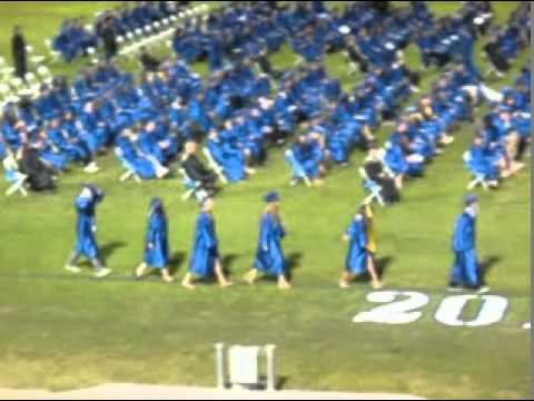 Josephs Frontier High School Graduation Ceremony 6 2 11 Youtube