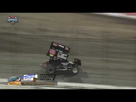 Knoxville Raceway 305 Highlights - July 8, 2017