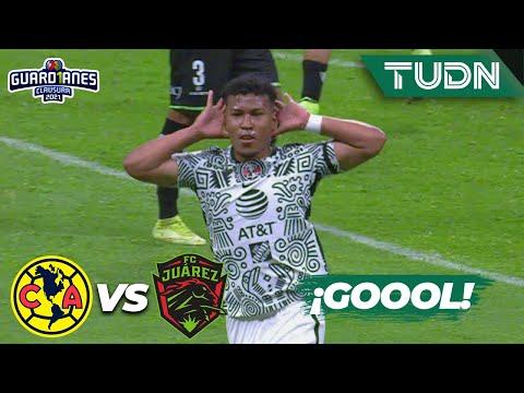 ¡Fogonazo! Gol de Roger Martínez   América 2-0 FC Juárez   Torneo Guard1anes 2021 Liga Mx J3   TUDN