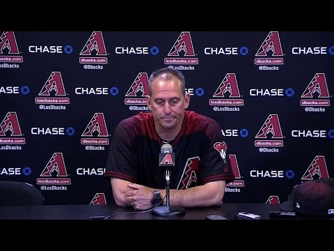 LAD@ARI: Lovullo on his team's offensive output