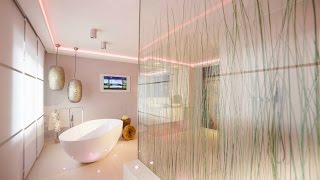 "Spa Design ""für die Sinne"" Lichtdesign Bad-Architektur"