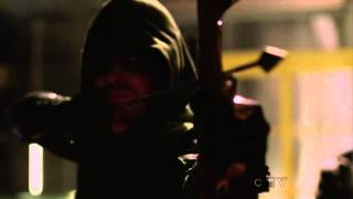 Green Arrow vs Merlyn Episode 22 Darkness on the Edge of Town