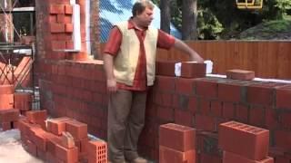 6. Как правильно возводить кирпичные стены дома - Строить не перестроить