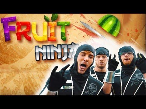 JLC → REAL LIFE FRUIT NINJA!!