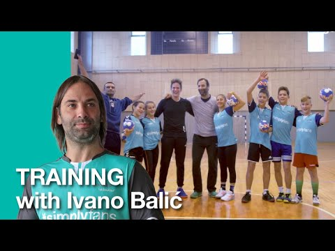 Training with Ivano Balić • #simplyfans by Gorenje
