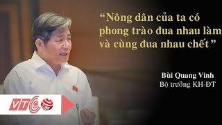 Những phát ngôn khó quên của đại biểu Quốc hội | VTC