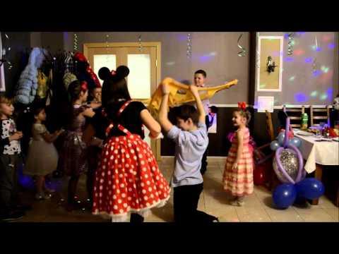 Супер детки. День рождения Алины и мамы. Вечеринка в стиле минни маус.