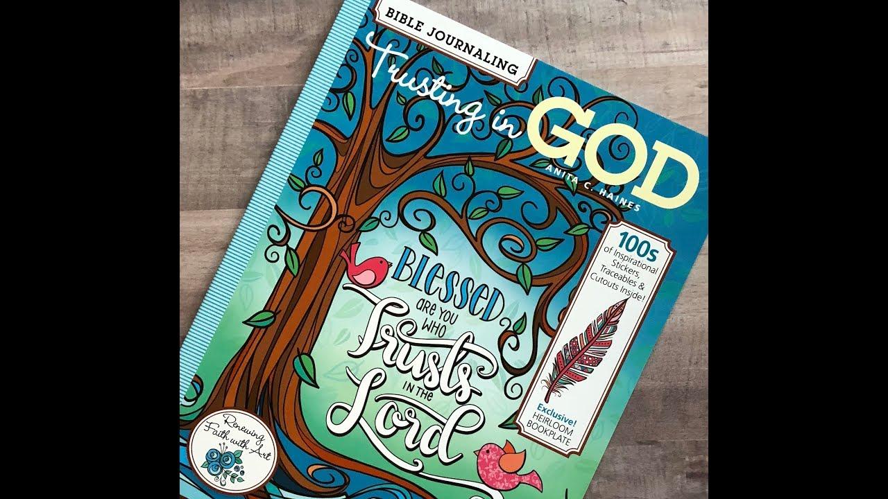 Bible Journaling Trusting in God