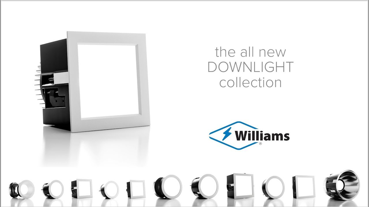 Introducing the all new LED Downlight Collection from Williams, featuring our innovative TrimlockTM reflector retention system. Learn more: https://www.hew.com/products/indoor/Downlights
