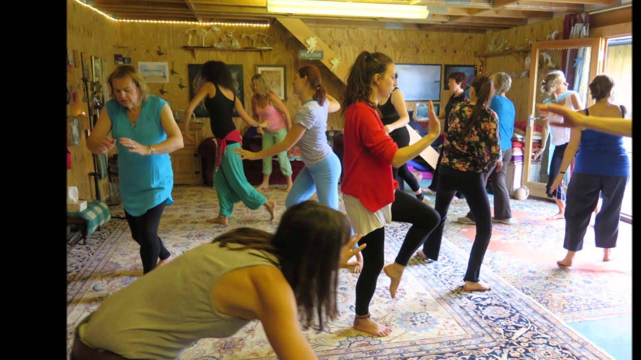 Chakra Dancing Teacher Training October 2014 - YouTube