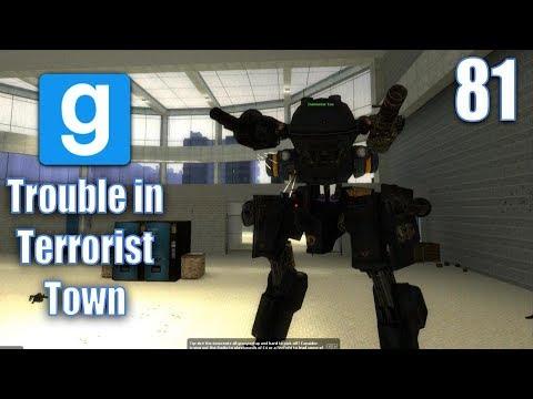 Garrys Mod TTT - Ep. 81 Mech Stealing and Invisible Walls