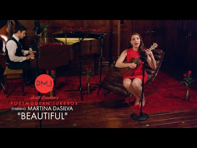 Beautiful - Christina Aguilera (Jazz Cover) ft. Martina DaSilva