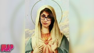 Video Mia Khalifa Faces Backlash After Photoshopping Her Face On Virgin Mary download MP3, 3GP, MP4, WEBM, AVI, FLV November 2017