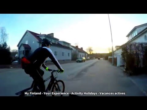 My Finland Your Experience - Bike Sightseeing Lahti City Lakes