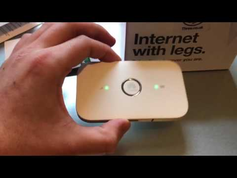4G Mobile Broadband MiFi Unboxing (Huawei E5573 on 3)