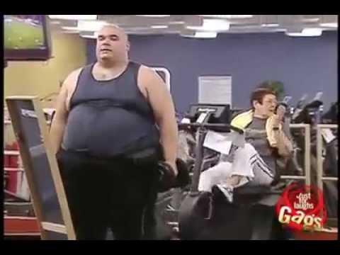 Mira lo qu pasa cuando un gordo va al gym youtube for Gimnasio el gym