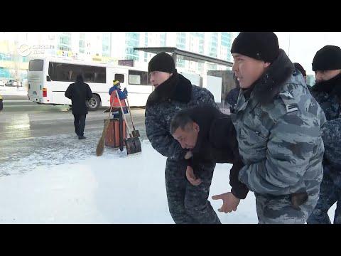 Kazakh Police Arrest Dozens In Nur-Sultan