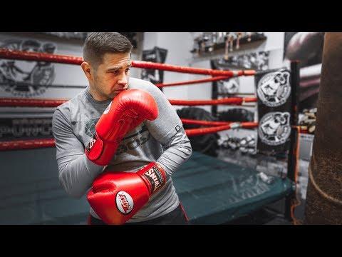 Как расслабить плечи в боксе