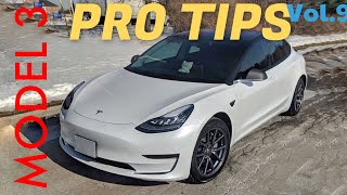 Tesla Model 3 - PRO TIPS Vol.9