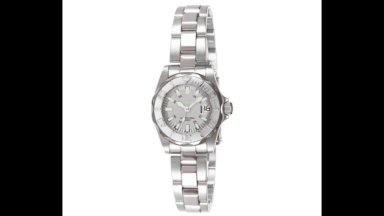 invicta 7066 s stainless steel silver dive