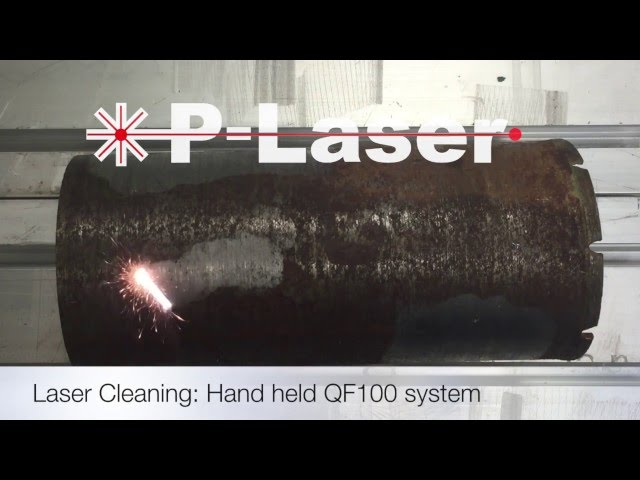 Laser cleaning: Rust removal - YouTube