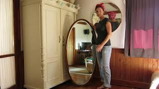 Renovace starého zrcadla