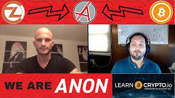 The Crypto King Sits Down to Discuss The Upcoming ANON Fork! ZCL BTC