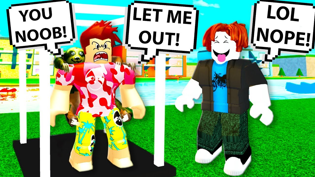 This Roblox Youtuber Called Me A Noob So I Got Revenge As Bacon - roblox nope youtube