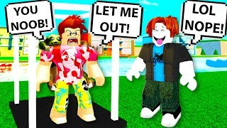This ROBLOX YOUTUBER called me a NOOB, so I got REVENGE as BACON MAN! Roblox Funny Moments