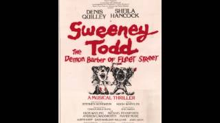 Sweeney Todd - Original London Cast - Last Night Live 19 - A Little Priest