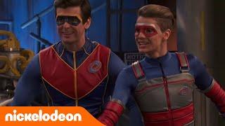 Henry Danger | Supereroi nei bidoni | Nickelodeon Italia