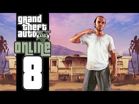 Let's Play GTA V Online (GTA 5) - EP08 - Hack Job!