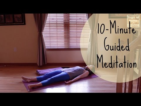 10-Minute Guided Meditation (Savasana) | Deep Relaxation - Bedtime Yoga - Relaxation