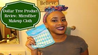Dollar Tree Product Review: Microfiber Makeup Cloth
