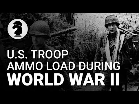 U.S. Army And Marine Ammo Loads (WW2)