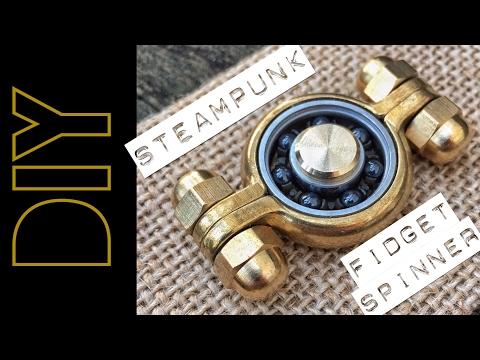 DIY Steampunk Fidget Spinner !!!
