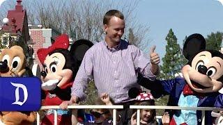 Peyton Manning Celebrates Super Bowl Victory at Disneyland Resort
