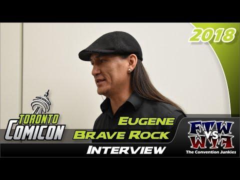 Eugene Brave Rock (Wonder Woman) Toronto ComiCon 2018 Interview
