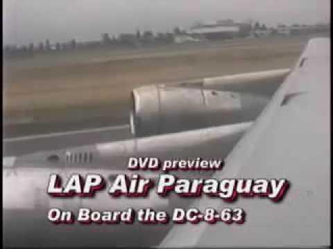 Vuelo Lineas Aereas Paraguayas Dc 8 LAP ASUNCION SANTIAGO DE CHILE