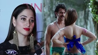 Tamanna bhatia revealed bahubali 2 secrets at bahubali 2 clothing launch