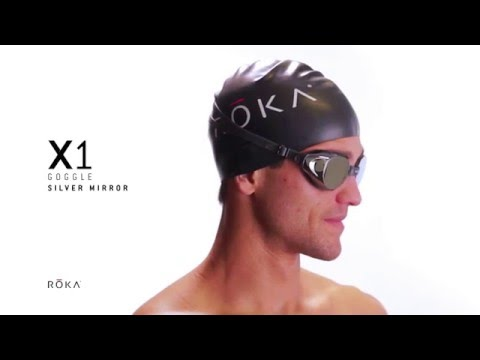 d21b9fe266c ROKA X1 Goggle - Silver Mirror (Men s Fit Reference)