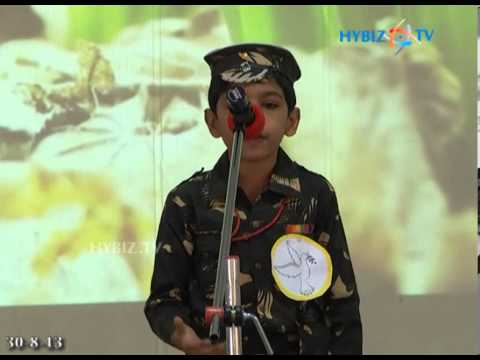 Nasr Boys School Student Performs Poem On Peace