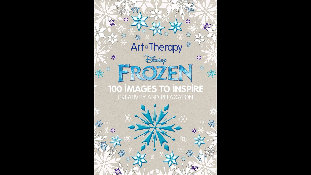 Flip Through Art Therapy Disney Frozen Coloring Book  YouTube