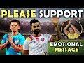 Virat Kohli & Sachin Tendulkar Emotional Message For Fans To Support Indian Football Team