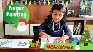 Finger Painting Ideas for Christmas | Christmas Finger Painting Ideas | Christmas Decorations DIY